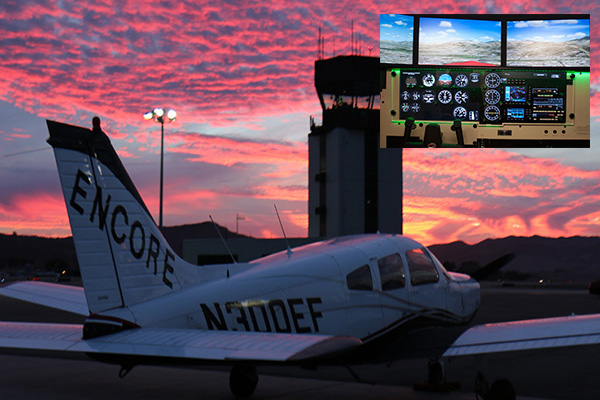 Encore-Flight-School-Van-Nuys-Discovery-Flight-1 AIRCRAFT AND FLIGHT SIMULATOR DISCOVERY FLIGHT | 20 MINUTES SIMULATOR | 60 MINUTES FLIGHT $249
