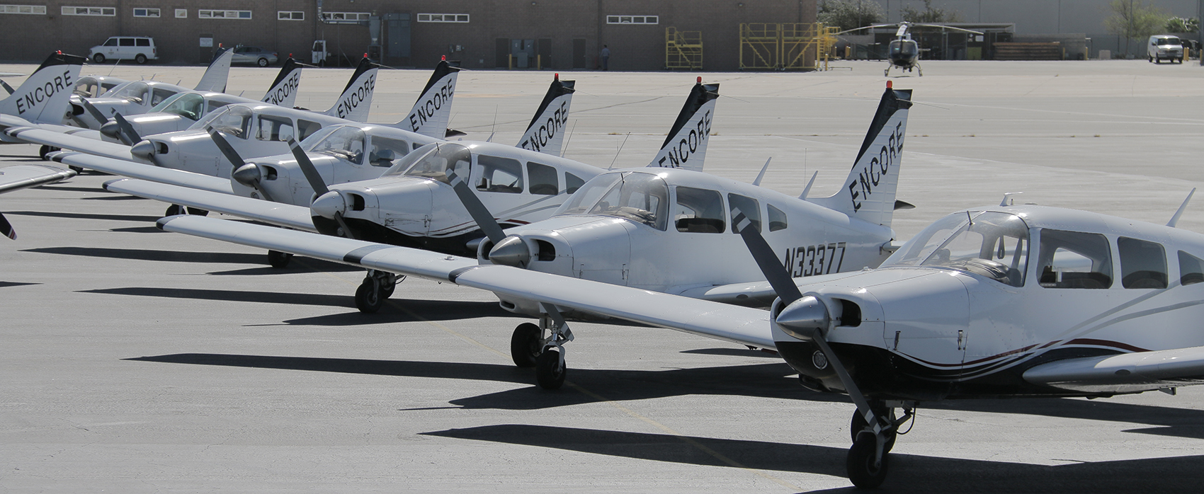 encore flight academy training aircraft