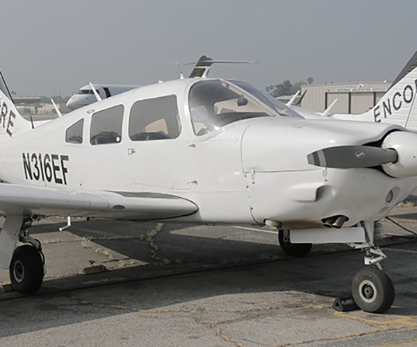 PIPER-ARROW-ENCORE-FLIGHT-1 Fleet of Aircraft Rental at Van Nuys Airport | Encore Flight Academy