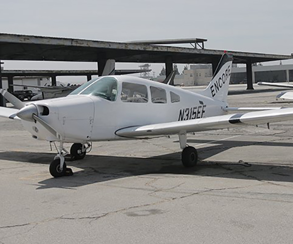 PIPER-WARRIOR-ENCORE-FLIGHT-N315EF-1 Fleet of Aircraft Rental at Van Nuys Airport | Encore Flight Academy