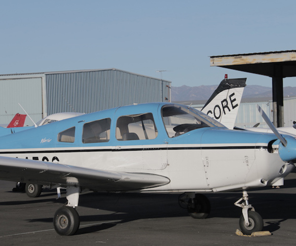 Piper-Warrior-for-rent-at-encore-flight-academy Fleet of Aircraft Rental at Van Nuys Airport | Encore Flight Academy