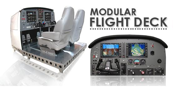 PFC-MFD-AATD Precision Flight Control Flight Simulator