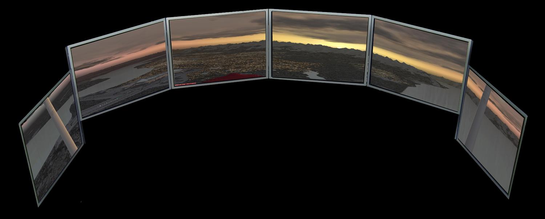 Views Full Motion Flight Simulator | Encore Flight Academy