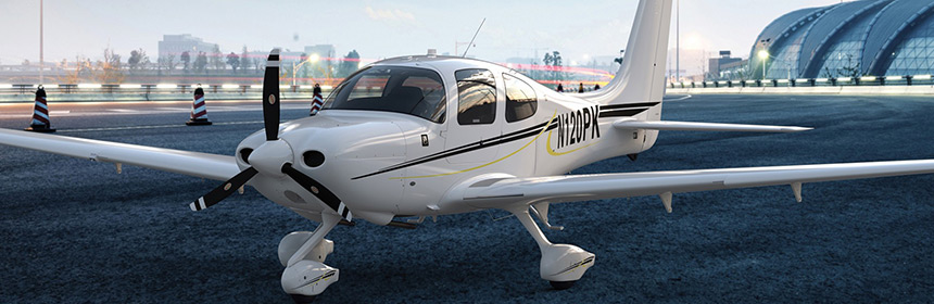 CIRRUS-AIRCRAFT-FOR-DISCOVERY-FLIGHT Cirrus Aircraft Flight Training Los Angeles