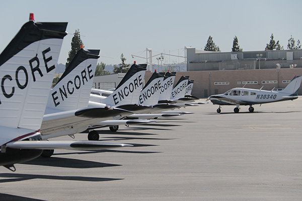 Aircraft-rental-with-Encore-Flight-van-nuys Piper Warrior Aircraft Rental Los Angeles