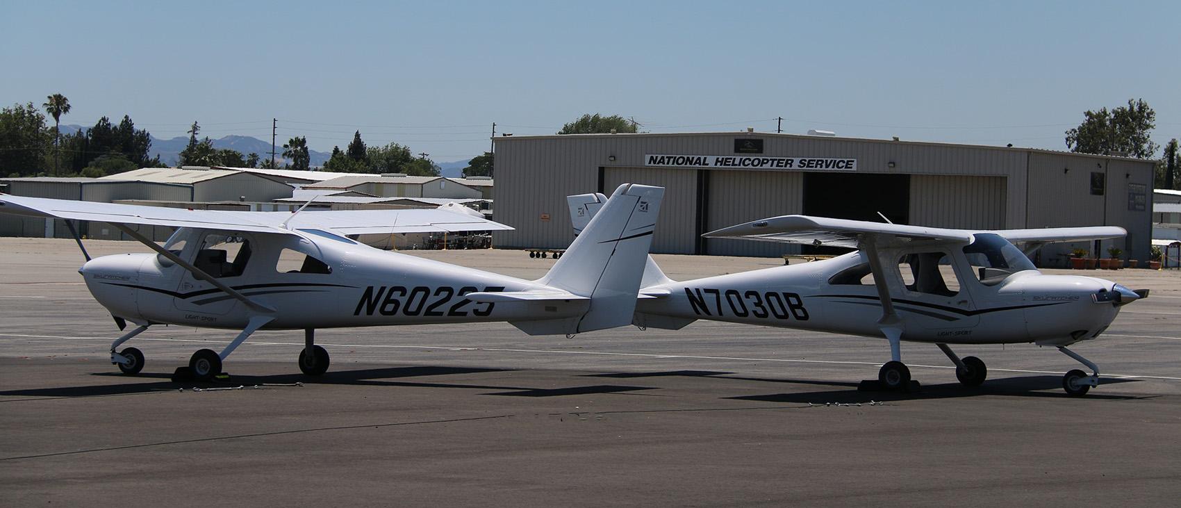 CESSNA-162 Cessna 162 Skycatcher Aircraft Rental Los Angeles